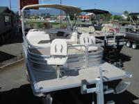 This Pontoon has a 60hp Yamaha Motor, Galvanized