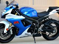 2014 GSXR 750 Like New Condition Never laid down Low