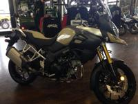 It has numerous enhancements over the previous V-Strom