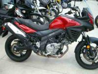 2014 SUZUKI V-STROM 650 ANTI-LOCK BRAKING SYSTEM, Candy