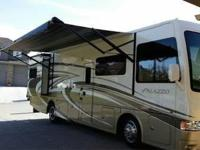 This is a 2014 Thor Palazzo 33.3 that is fully loaded