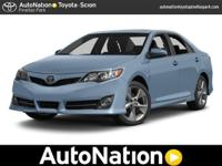 This 2014 Toyota Camry LE is provided to you for sale