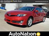 This impressive example of a 2014 Toyota Camry SE is