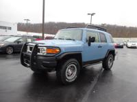 Certified. CARFAX One-Owner. 2014 Toyota FJ Cruiser