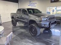 This 2014 Toyota Tacoma has a 4.0 liter, V6 engine,