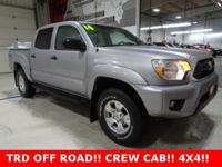 * TRD OFF-ROAD *, * TOYOTA CERTIFIED *, * ONE
