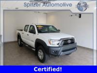 Toyota Tacoma CARFAX One-Owner. Certified. Clean