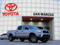 CARFAX One-Owner. Silver 2014 Toyota Tacoma PreRunner