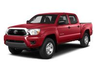 Outstanding design defines the 2014 Toyota Tacoma. This