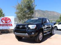 4WD. Clean CARFAX. 2014 Toyota Tacoma V6 4D Double Cab