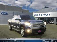 Blue Ribbon Metallic 2014 Toyota Tundra Limited CrewMax