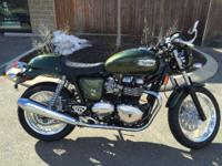 2014 Triumph Thruxton PRICE REFLECTS APPLICATION OF ANY