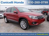This 2014 Volkswagen Tiguan SEL is priced to sell. A
