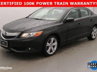 CARFAX One-Owner. Clean CARFAX. Black 2015 Acura ILX