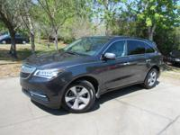 Options:  2015 Acura Mdx 3.5|This 2015 Acura Mdx 4Dr