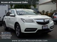 Options:  2015 Acura Mdx|White/|V6 3.5 L