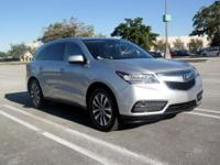 New Price! ADVERTISED PRICE INCLUDES ACURA'S PRE-OWNED