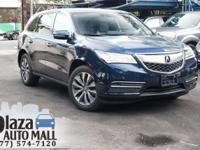 New Price! 2015 Acura MDX 3.5L Technology Package
