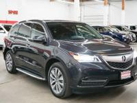 This 2015 Acura MDX AWD 4dr Tech Pkg . It is equipped