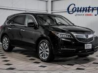 Acura... MDX... Technology Package... 3.5L V6... AWD...