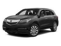 Recent Arrival! 2015 Acura MDX 3.5L Technology Package