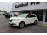 Options:  2015 Acura Mdx 3.5L Technology