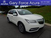 Our One Owner 2015 Acura Certified MDX Super Handling