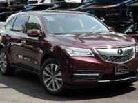 Recent Arrival! Certified. 2015 Acura MDX 3.5L