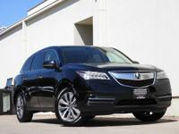 This 2015 Acura MDX Tech Pkg is offered to you for sale