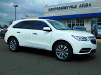 This is a Certified 2015 Acura Mdx Tech Pkg . Low miles