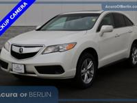 2015 Acura RDX White Diamond Pearl New Price!