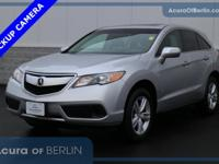 2015 Acura RDX Silver Moon New Price! Certified. CARFAX