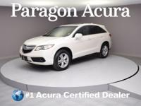 Local Trade-In! Certified. 2015 Acura RDX CARFAX