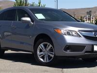 2015 Acura RDX Forged Silver Metallic Certified. CARFAX