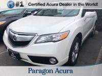 New Price! Certified. 2015 Acura RDX Technology Package