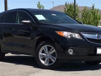 2015 Acura RDX Technology Package Crystal Black Pearl