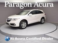 Local Trade In ! Certified. 2015 Acura RDX Technology