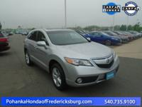 This 2015 RDX is a one owner vehicle with a clean