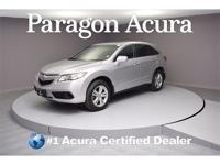 New Price! Certified. 2015 Acura RDX CARFAX One-Owner.