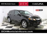 Acura QUALITY, Acura CERTIFIED ONE OWNER, BACK-UP