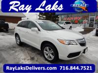 CARFAX 1-Owner, LOW MILES - 28,397! RDX trim, White