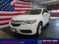 CARFAX One-Owner. White 2015 Acura RDX AWD 6-Speed