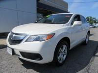 CARFAX 1-Owner, ONLY 27,000 Miles! RDX trim. EPA 27 MPG