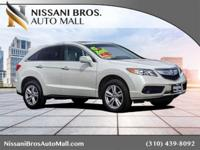 This 2016 Acura RDX Base SUV is a rare gem... CERTIFIED