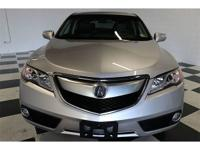 CARFAX One-Owner. Clean CARFAX. Silver 2015 Acura RDX
