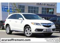 CARFAX One-Owner. Clean CARFAX. White 2015 Acura RDX
