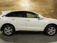 Certified. White 2015 Acura RDX Technology Package