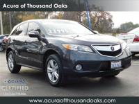 Charcoal 2015 Acura RDX Technology Package w/Technology