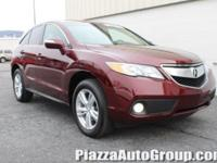 Basque Red 2015 Acura RDX Technology Package AWD 3.5L