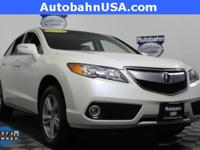 White Diamond Pearl 2015 Acura RDX Technology Package